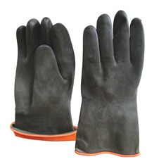 Γάντια από φυσικό λάστιχο PVC Κίνας - PoliSafety 78d28847f22