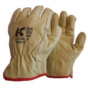Γάντια εργασίας από φυσικό δέρμα μόσχου DRIVER