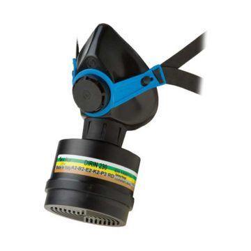 Μάσκα προστασίας μισού προσώπου σιλικόνης SEKUR 500