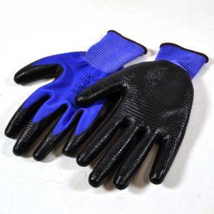 Γάντια εργασίας νιτριλίου με ραβδώσεις MAX