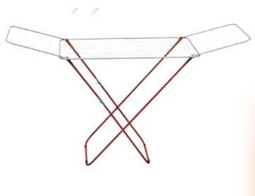 Απλώστρα ρούχων δαπέδου γαλβανιζέ χρωματισμένη 20Μ