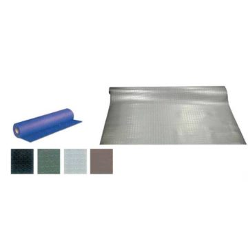 Δάπεδο πλαστικό με τάπες σε διάφορα χρώματα