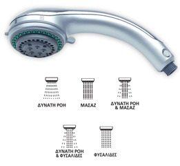 Τηλέφωνο μπάνιου HYDROMIX αυτοκαθαριζόμενο