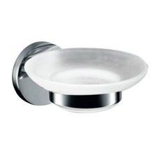 Σαπουνοθήκη μπάνιου με κρυστάλλινο ματ πιατάκι VERSO