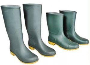 Μπότες-Γαλότσες εργασίας κοντές-ψηλές πράσινες