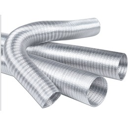 Σπιράλ - εύκαμπτος αεραγωγός αλουμινίου