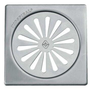 Σχάρα μπάνιου inox βαρέως τύπου viospiral με πλαίσιο