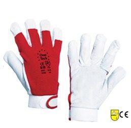 Γάντια εργασίας δερμάτινα χειριστών-μονταδόρων - PoliSafety 02dd15b7157