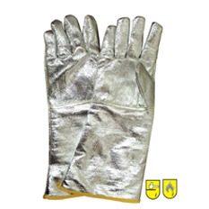 Γάντια θερμοκρασίας αλουμινίου με ενίσχυση αραμιδίου