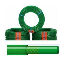 Λάστιχο ποτίσματος πράσινο ενισχυμένο πολυεστερικής πλέξης