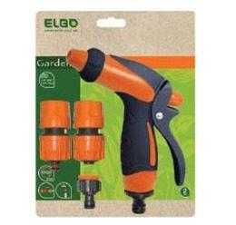 Σετ με πιστόλι ποτίσματος και ταχυσυνδέσμους Elgo