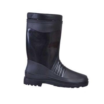 Γαλότσα - μπότα ασφαλείας γυναικεία μαύρη