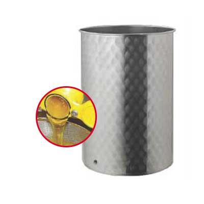 Ανοξείδωτο βαρέλι μελιού σε διάφορα μεγέθη