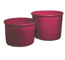Κάδος πατητήρι σταφυλιών πλαστικός κόκκινος