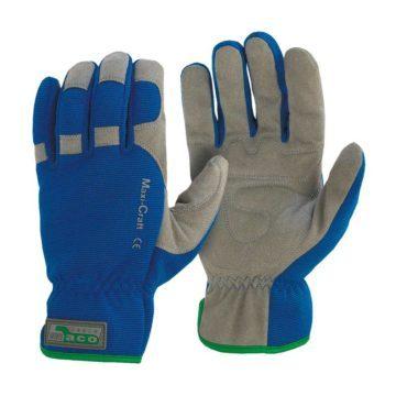 Γάντια προστασίας μηχανικών μπλε χρώματος Maco