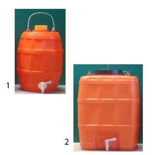 Πλαστικός νιπτήρας με κάνουλα 10-20Lt
