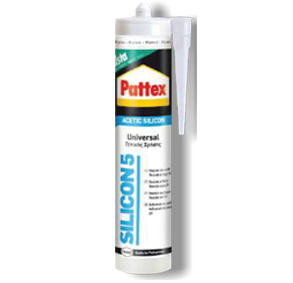 Αντιμουχλική σιλικόνη γενικής χρήσης Pattex φυσίγγιο