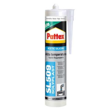 Σιλικόνη υψηλής θερμοκρασίας SL509 Pattex φυσίγγιο