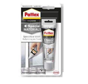 Σιλικόνη για καθρέφτες και γυαλί ουδέτερη Pattex σωληνάριο