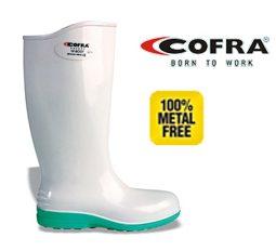 Μπότες τροφίμων λευκές Cofra E oro