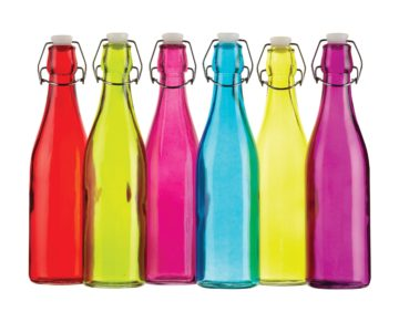 Μπουκάλια γυάλινα και πλαστικά