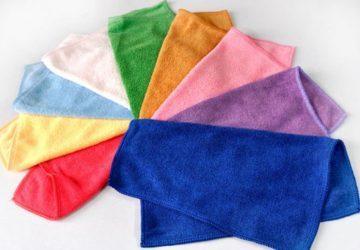 Πετσέτες καθαρισμού Microfiber