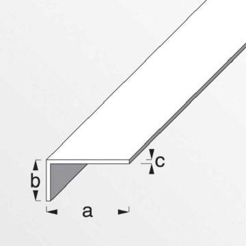 Προφίλ γωνιακό αλουμινίου ισόπλευρο ασημένιο ALFER