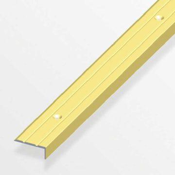 Προφίλ αλουμινίου για τελείωμα πατωμάτων σκαλοπατιών