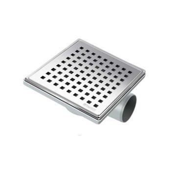 Σιφόνι δαπέδου μπάνιου τετράγωνο με περιστρεφόμενη βάση