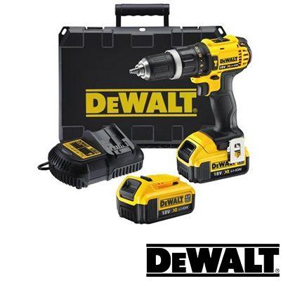 Δραπανοκατσάβιδο επαναφορτιζόμενο 18 Volt DeWALT 4.0Ah