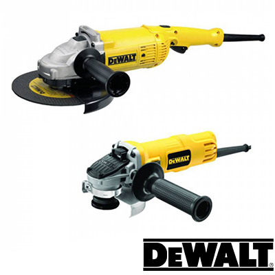 Γωνιακοί τροχοί DeWALT 900 & 2200 Watt σε σετ