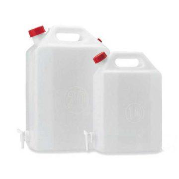 Μπετόνι καυσίμων πλαστικό με κάνουλα ΙΤΑΛΙΑΣ