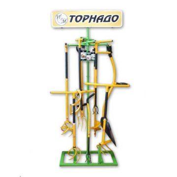 Βάση δαπέδου για στήριξη σκαπτικών εργαλείων TORNADO