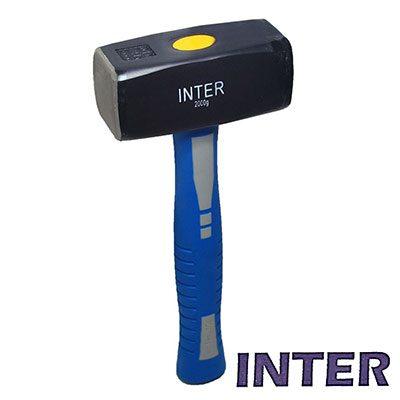 Βαριοπούλα με Fiber λαβή INTER