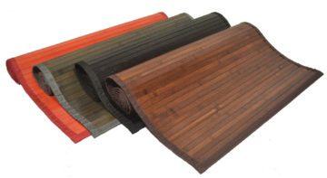 Πατάκι εισόδου μπαμπού σε διάφορα χρώματα
