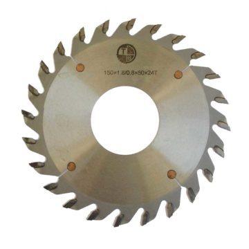 Δίσκοι κοπής ξύλου 1.6-1.8mm με δόντια αντίθετης κλίσεως