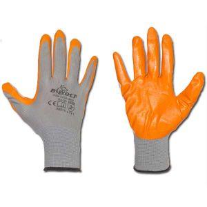 Γάντια νιτριλίου προστασίας μηχανικών κινδύνων BWOLF