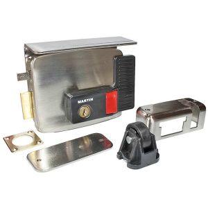 Κλειδαριά ηλεκτρική τετράγωνη κουτιαστή για αυλόπορτες