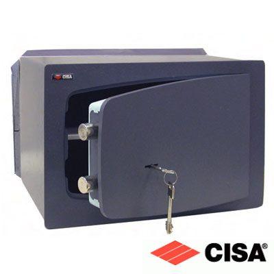 Χρηματοκιβώτιο εντοιχιζόμενο CISA 8A010 με κλειδί