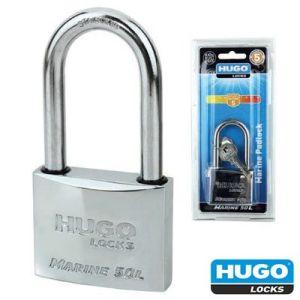 Λουκέτο ανοξείδωτο ασφαλείας μακρύλαιμο MARINE Hugo Locks