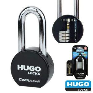 Λουκέτο ασφαλείας 64R ενισχυμένο μακρύλαιμο Hugo Locks