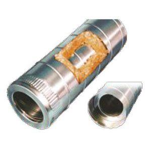 Αεραγωγός αλουμινίου ΙΝΟΧ με μόνωση