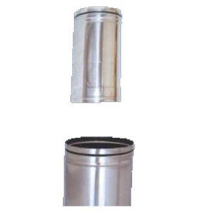 Καπνοδόχος πτυσσόμενος αλουμινίου λείας επιφάνειας