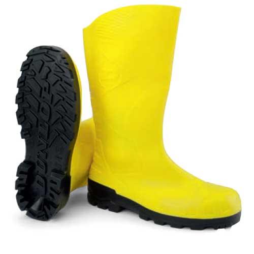 Μπότα ασφαλείας αδιάβροχη S5 Dunlop Devon κίτρινη