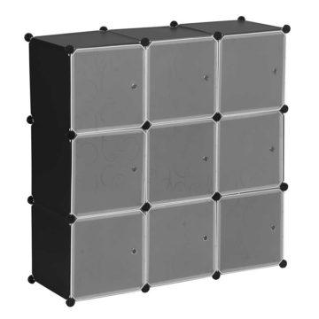 Κουτί αποθήκευσης πλαστικό 9 θέσεων
