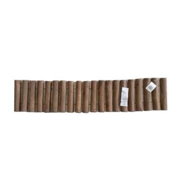 Φράχτης κήπου ξύλινος διακοσμητικός 100x20