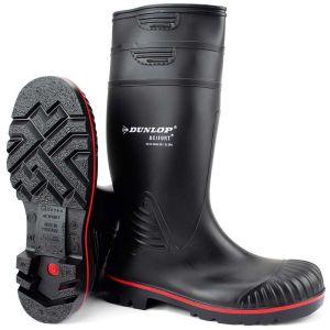 Μπότα ασφαλείας αδιάβροχη S5 μαύρη Dunlop ACIFORT