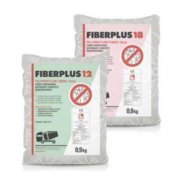 Ίνες πολυπροπυλενίου για ινοπλισμό σκυροδέματος FIBERPLUS