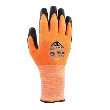 Γάντια εργασίας Anti-Cut με επικάλυψη νιτριλίου πιστοποιημένα