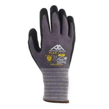Γάντια εργασίας μηχανικών νιτριλίου και πολυεστέρα με βούλες